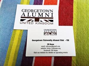 UK Hoyas business cards