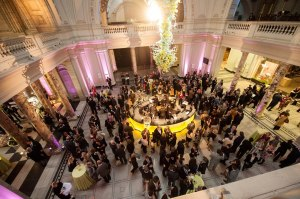 Thursday night reception at the Victoria & Albert Museum