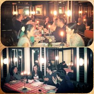 Around the World dinners