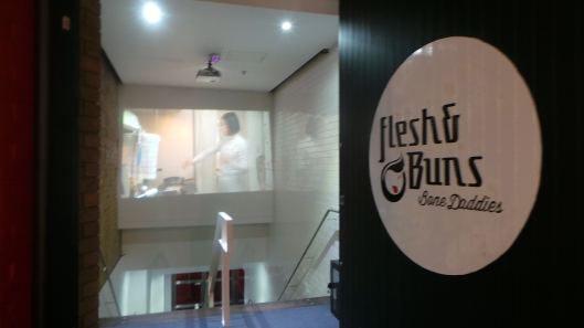 Entrance to Flesh & Buns