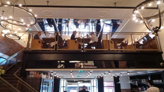 inside Iberica Canary Wharf