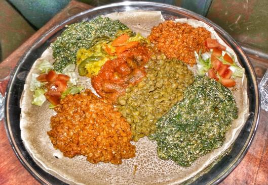 Veggie dish at Mosob